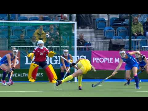 Fantastic hockey save from Amy Gibson | Unmissable Moments