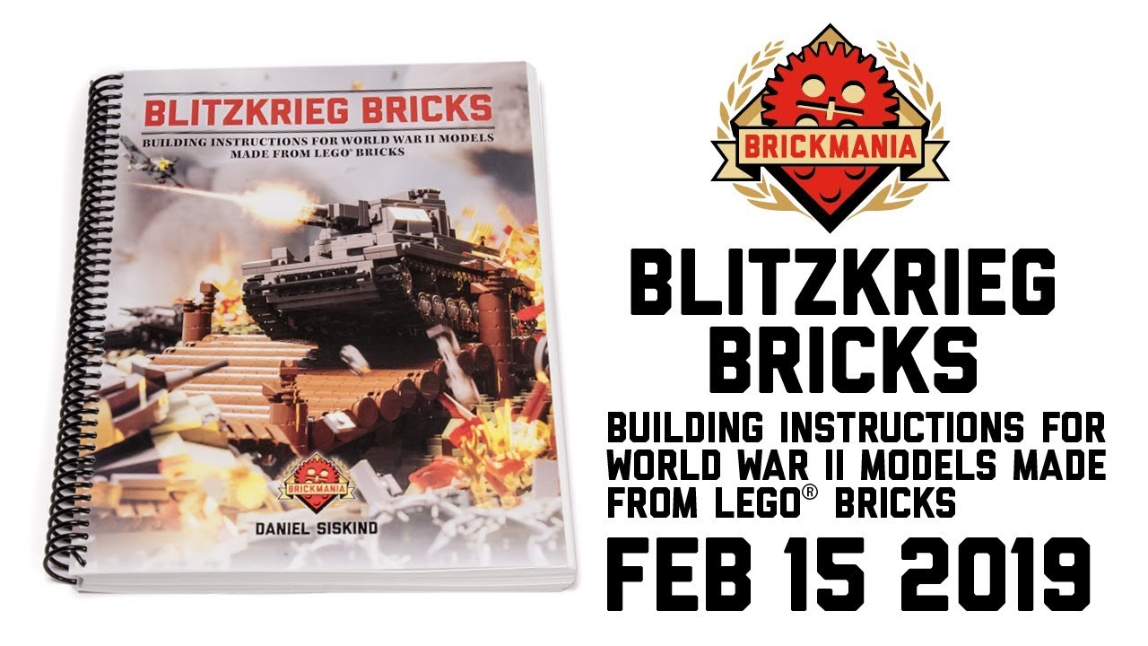 Blitzkrieg Bricks: Building Instructions for World War II Models