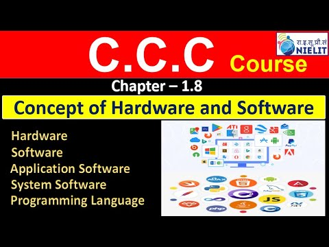 Hardware & Software || Chapter 1.8 || Computer  || In #Hindi