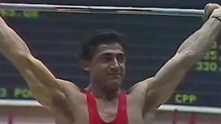 Yurik Vardanyan — 1983 World and European Weightlifting Championships.