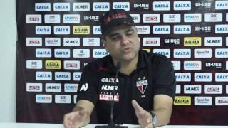 Atletico: Marcelo Cabo comenta derrota para o Goias