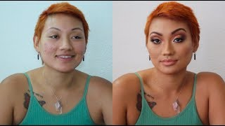 GET INTO THIS MAKEUP TRANSFORMATION!