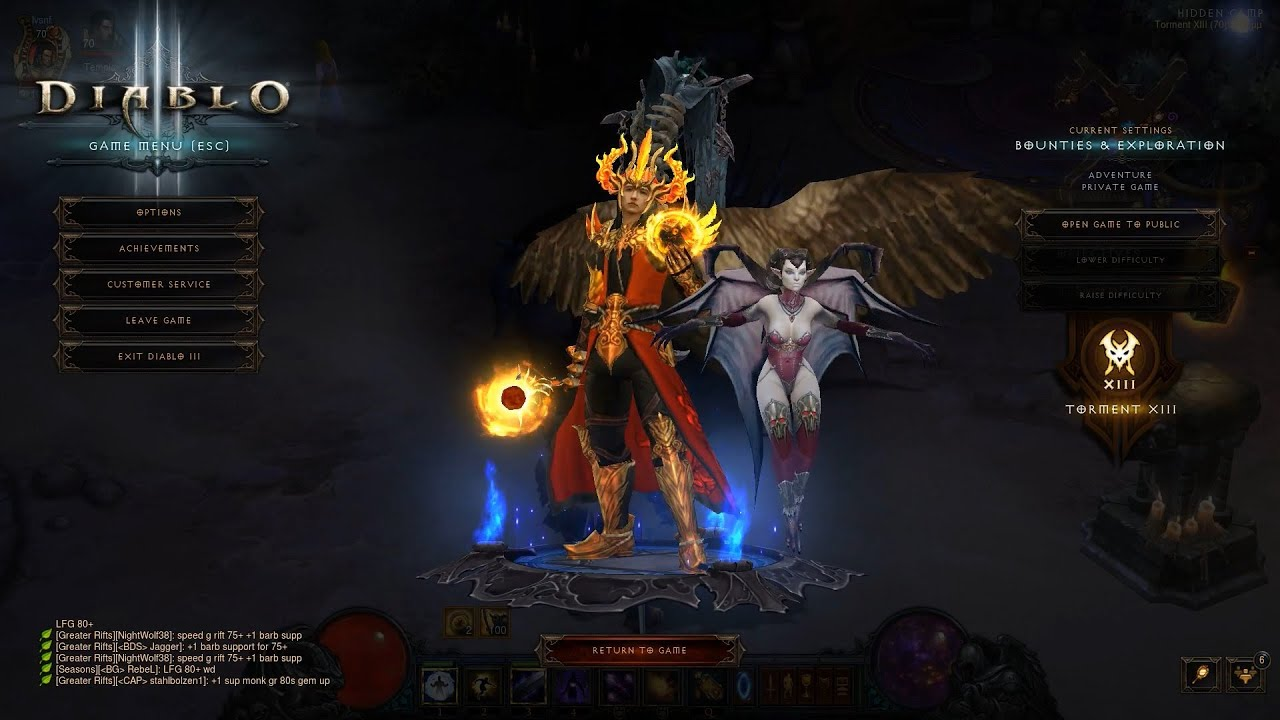 Diablo  Archon Firebird Build