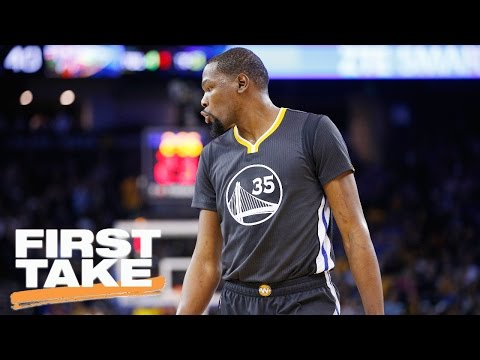 Stephen A. Smith: 'No Way In Hell' Warriors Win Title Without Durant | First Take | April 19, 2017