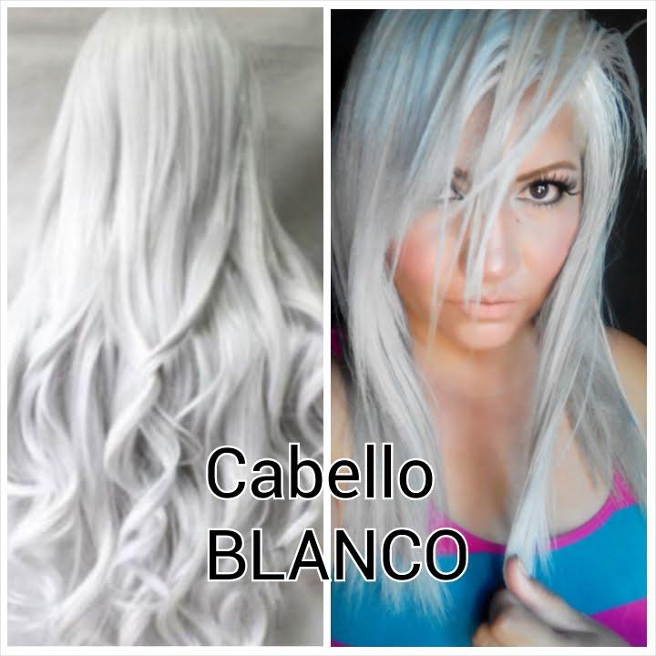 Cómo Pintarme El Cabello Blanco Cabello Blanco Cabello Rubio Amarillo Cabello