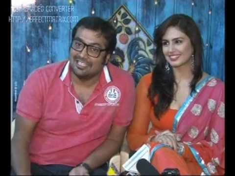 Huma Qureshi Anurag Kashyap Kunal Kapoor promote Luv Shuv Tey Chicken Khurana Part 1