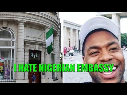 How Nigerian Embassy Frustr@tes Nigerians Abroad