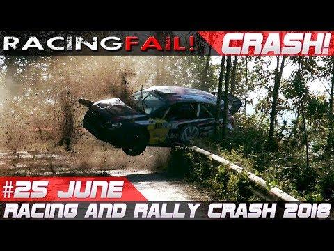 Racing and Rally Crash Compilation Week 25 June 2018 | RACINGFAIL