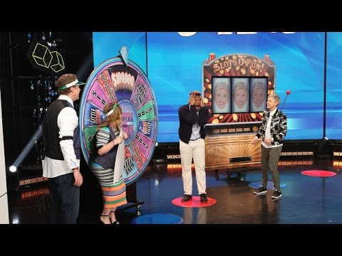 Ellen, Will Ferrell & Amy Poehler's Spectacular Casino Surprise
