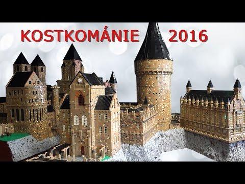 Exposition in Lipno 2016 - Hogwarts Castle from 1 MILION bricks!!!