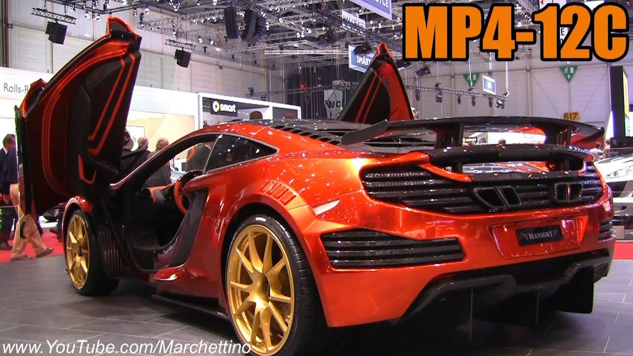 mansory mclaren mp4-12c - 2012 geneva motor show - youtube