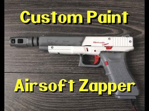 Custom Paint: Airsoft Zapper (like Duck Hunt gun)