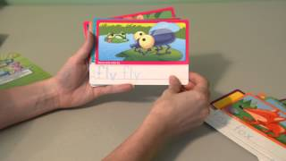 Three-Letter Words Write-On Learning, Wipe-Clean Flash Cards - Kinder Playtime