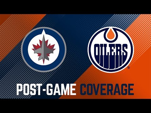 ARCHIVE   Oilers Post-Game Interviews vs. Winnipeg