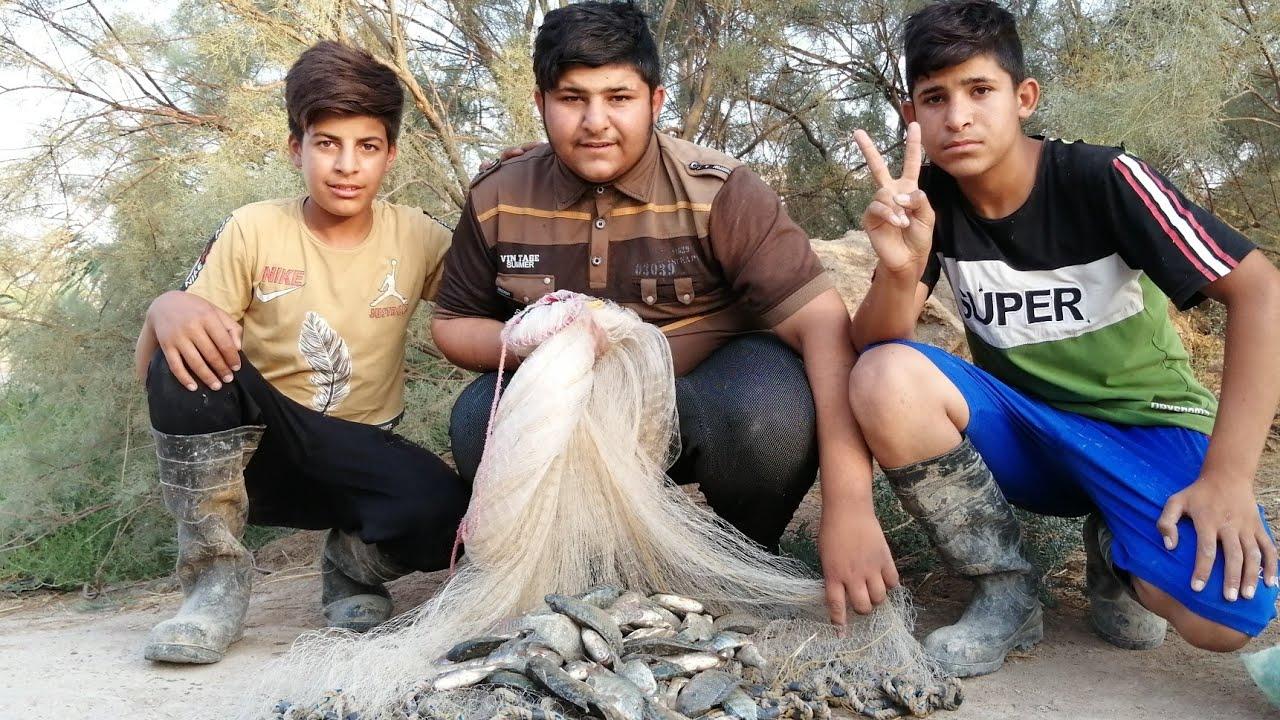 صيد السمك في السليه. شباب الوصف مهم /أكرم الصياد