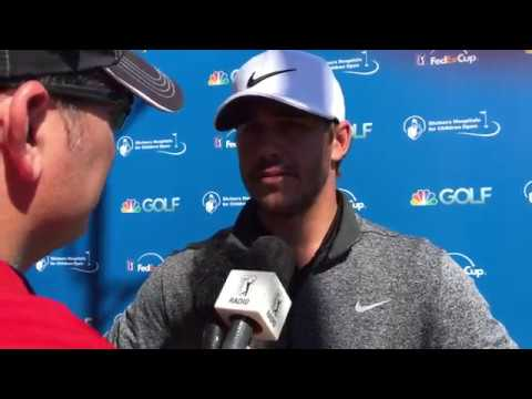 Brooks Koepka discusses Shriners Open First Round