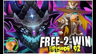 SUMMONERS WAR : FREE-2-WIN - Episode 92 - Dark Rift Beast Blasted by Bounty Hunters...