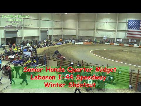 Senior Honda Quarter Midget - I-44 Speedway Winter Shootout 1-19-2018
