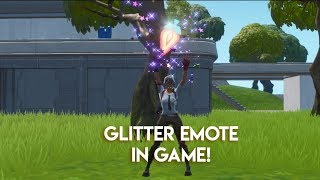 Fortnite | Leaked Glitter Emote In Game!
