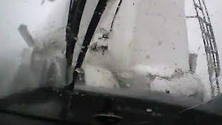 Водитель Renault Megane влетел в фуру