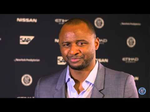 Exclusive Interview with Patrick Vieira Part One