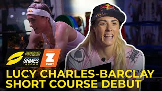 Lucy Charles-Barclay's Triathlon Training For Short Course Debut
