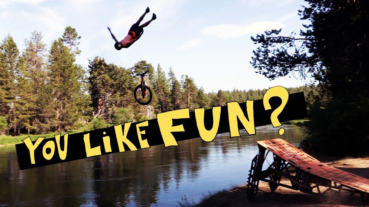 Bike Park Laps & River Jumping