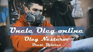 Uncle Oleg online. Oleg Nesterov, vlogger and car painter