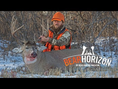 Right Time TWICE | HUNT FOR A 160-inch Whitetail | Bear Horizon Episode 5