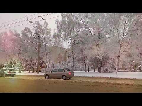 Зимняя зарисовка. Ставрополь, улица 50 лет ВЛКСМ (10.01.2019)