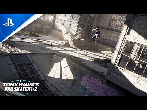 Tony Hawk's Pro Skater 1 and 2 - Warehouse Demo Trailer   PS4, deutsch