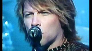 Jon Bon Jovi- You give love a bad name