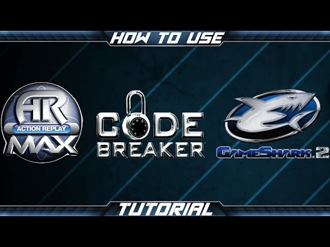 How to Use: Action Replay Max, Codebreaker, and GameShark 2!