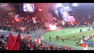 Roma vs Manchester City 0-2, amazing atmosphere (HD)