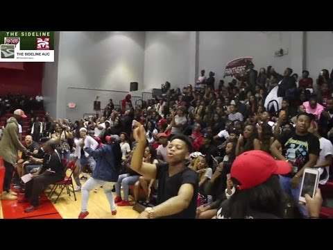 CAU CLARK ATLANTA UNIVERSITY Midnight Madness 2016