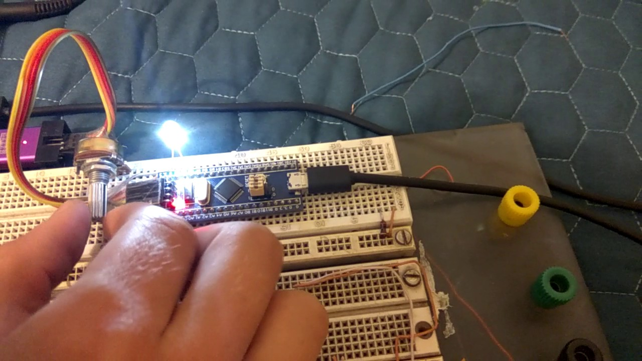 STM32 ADC,PWM Y COM SERIAL Arduino
