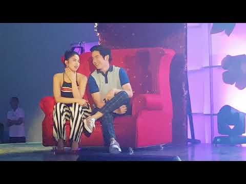 Joshua Garcia Alagang-Alaga ni Julia Barretto sa Just Love ArawAraw Fanmeet