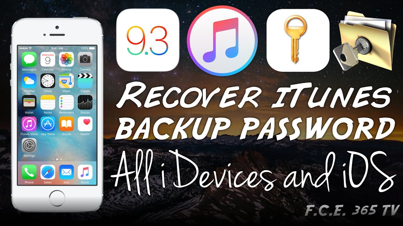best free itunes backup password recovery