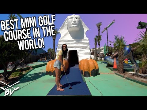 THE BEST MINI GOLF COURSE IN THE WORLD! - CRAZY HOLE IN ONES AND INSANE HOLES! - WIN FREE GAME!