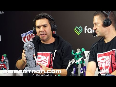 Hasbro's Transformers Twitch Livestream Presentation at NYCC 2016