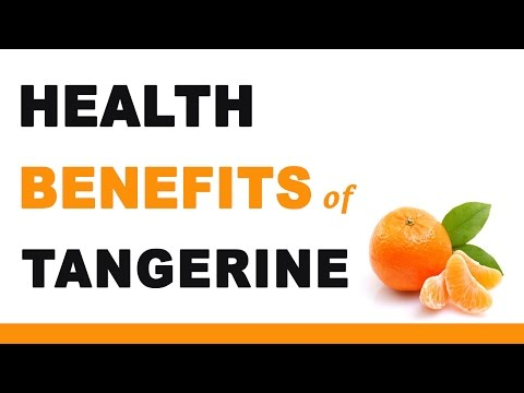 Health Benefits of Tangerine Fruit