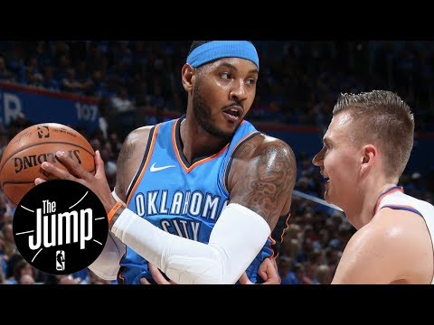Carmelo Anthony's chapter with the Knicks is officially over | The Jump | ESPN