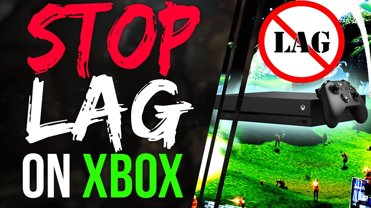 Fortnite Battle Royale HOW TO STOP LAG on XBOX ONE - How to Fix Lag | NO  MORE LAG XBOX