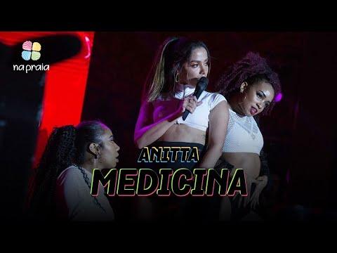 Anitta — Medicina  Ao Vivo Na Praia