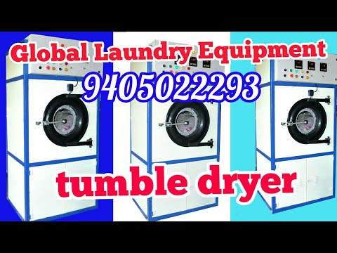 Tumble Dryer From Global Laundry Equipment. .#laundry_business_plan