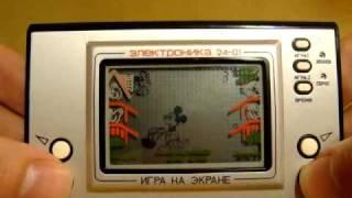 Культова радянська гра ''Електроніка 24-01'' (Мікі Маус)