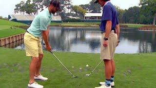 Trick-Shot on 17th @ TPC Sawgrass   Bryan Bros Golf