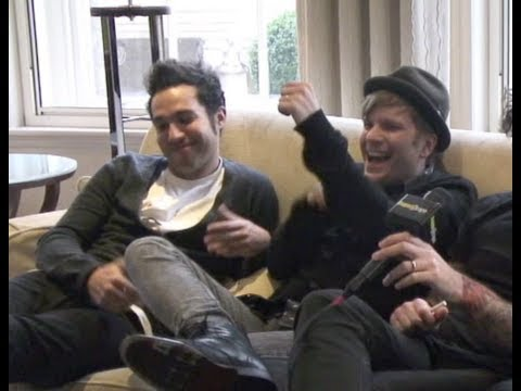 Fall Out Boy take The Stupid Interview and indulge Patrick Stump's armpit fetish