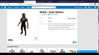 How To Get WWE - Seth Rollins | Roblox WWE Event 2019