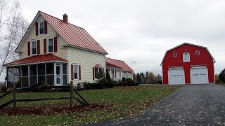 SOLD | USA Real Estate In Maine, Farm Land, Waterfront, Home, Barn!